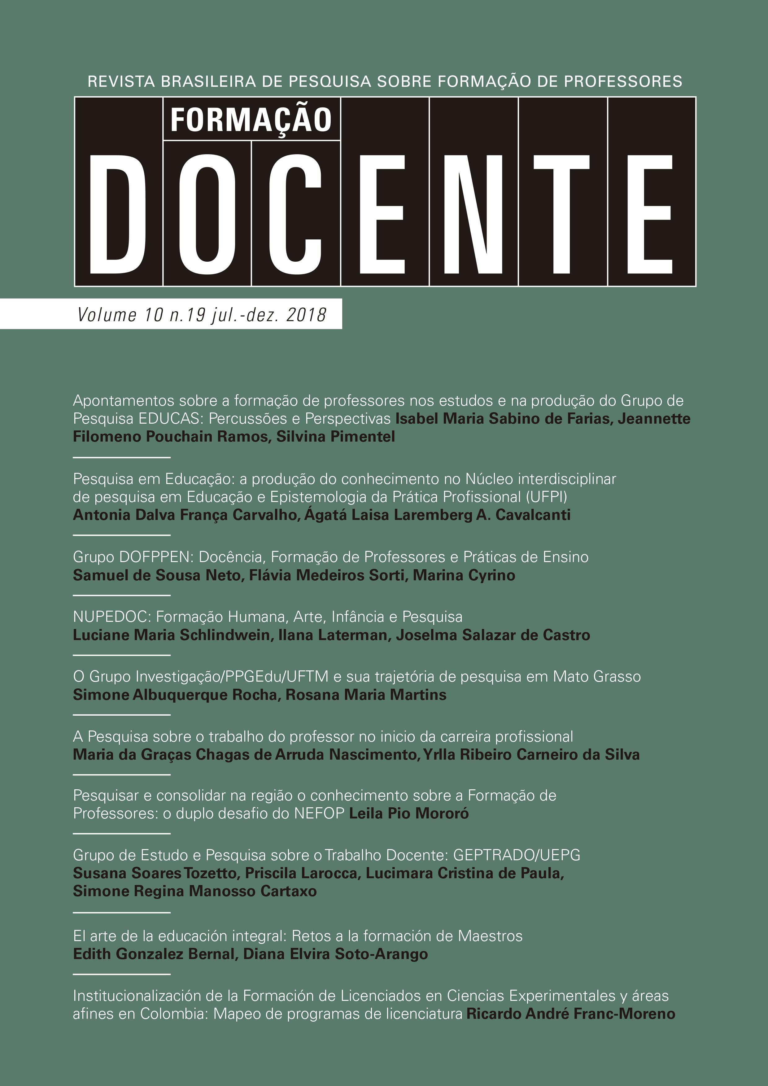 Volume 10, n. 19, ago/dez de 2018
